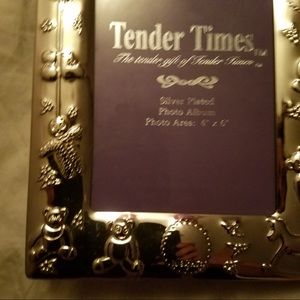 Tender Times Other Silver Plated Baby Photo Album Poshmark